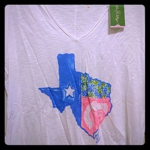 Lilly Pulitzer Texas Graphic Tee
